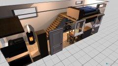 Raumgestaltung Tiny Haus in der Kategorie Wohnzimmer