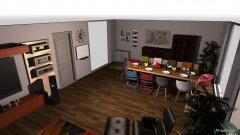 Raumgestaltung Tobelbad_Wohnzimmer in der Kategorie Wohnzimmer