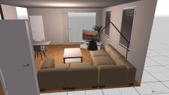 Raumgestaltung Tokyo WZ in der Kategorie Wohnzimmer