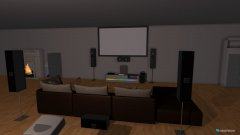 Raumgestaltung traum haus in der Kategorie Wohnzimmer
