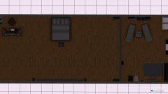 Raumgestaltung Traumhaus in der Kategorie Wohnzimmer