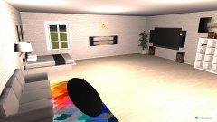 Raumgestaltung Traumzimmer in der Kategorie Wohnzimmer