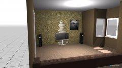 Raumgestaltung tugays wohnzimmer in der Kategorie Wohnzimmer