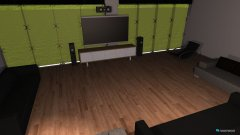 Raumgestaltung Tv Zimmer in der Kategorie Wohnzimmer
