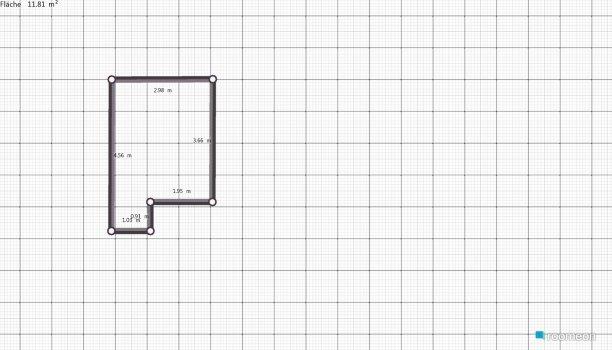 Raumgestaltung typ in der Kategorie Wohnzimmer