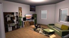 Raumgestaltung Übungszimmer-Wohnzimmer in der Kategorie Wohnzimmer