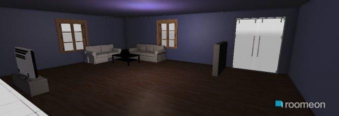 Raumgestaltung Übungszimmer in der Kategorie Wohnzimmer