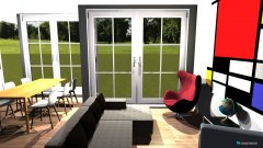 Raumgestaltung Uhlandstr.58-OG-Wohnzimmer in der Kategorie Wohnzimmer
