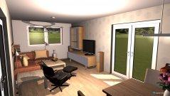 Raumgestaltung UJ-Wohnzimmer in der Kategorie Wohnzimmer
