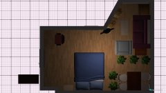 Raumgestaltung Umbau 2 - Großes Zimmer in der Kategorie Wohnzimmer