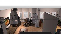 Raumgestaltung Umtopfen - Wohnzimmer in der Kategorie Wohnzimmer
