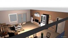 Raumgestaltung Unfertig WZ in der Kategorie Wohnzimmer