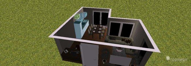 Raumgestaltung unsa Wohnküche in der Kategorie Wohnzimmer