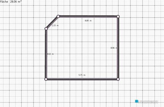 Raumgestaltung unser Haus - Wohnzimmer in der Kategorie Wohnzimmer