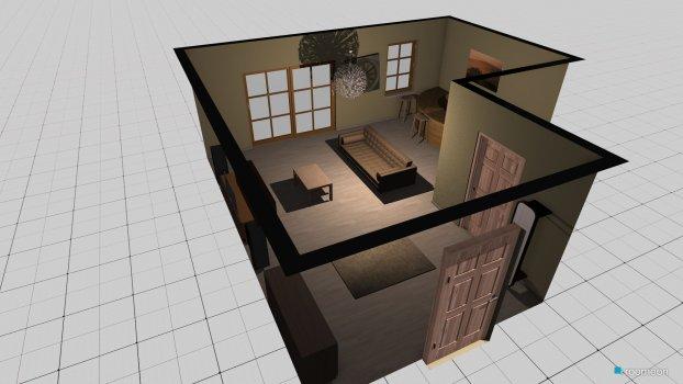 Raumgestaltung unten zimmer in der Kategorie Wohnzimmer