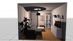 Raumgestaltung Untermaßfeld 2 in der Kategorie Wohnzimmer
