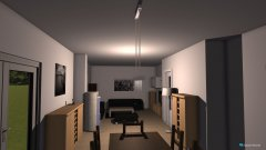Raumgestaltung UW9 Wohnzimmer (neu) in der Kategorie Wohnzimmer