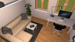 Raumgestaltung Variante 3 in der Kategorie Wohnzimmer