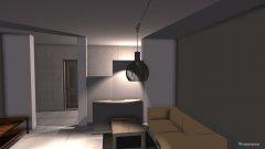 Raumgestaltung Variante 6 in der Kategorie Wohnzimmer