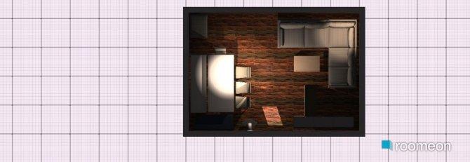 Raumgestaltung Variante Eckvariante  in der Kategorie Wohnzimmer