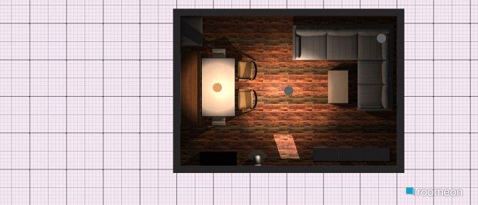 Raumgestaltung Variante Längs kurz neu  in der Kategorie Wohnzimmer