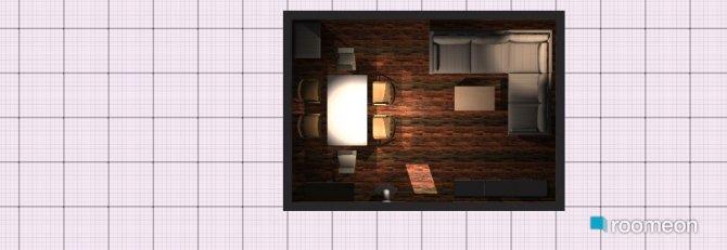 Raumgestaltung Variante Längs Normal in der Kategorie Wohnzimmer
