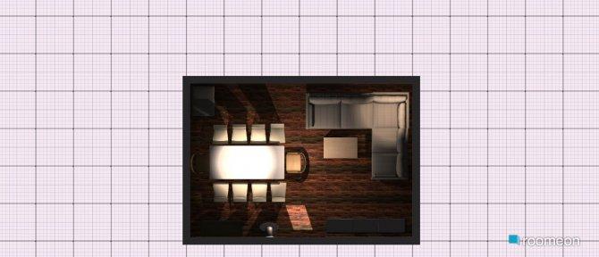 Raumgestaltung Variante Quer Ausgezogen in der Kategorie Wohnzimmer