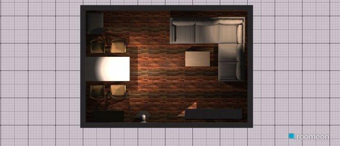 Raumgestaltung Variante Quer Normal in der Kategorie Wohnzimmer