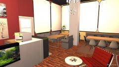 Raumgestaltung Velvet1 in der Kategorie Wohnzimmer