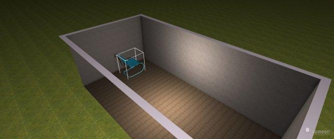 Raumgestaltung Versuch 1 3D in der Kategorie Wohnzimmer