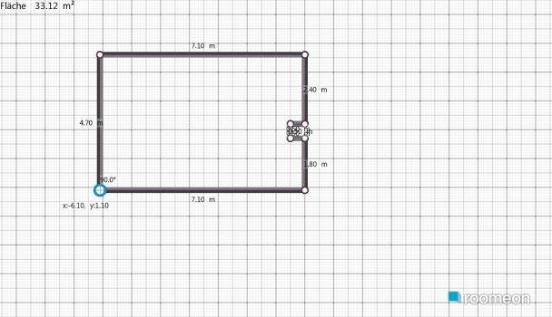 Raumgestaltung Versuch1 in der Kategorie Wohnzimmer