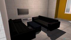Raumgestaltung Vidava - Salon in der Kategorie Wohnzimmer