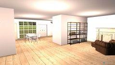 Raumgestaltung Villa LA in der Kategorie Wohnzimmer