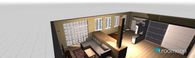 Raumgestaltung Voloshkaya 50 main room in der Kategorie Wohnzimmer