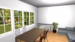 Raumgestaltung Von-Kluck-Str Wohnzimmer in der Kategorie Wohnzimmer
