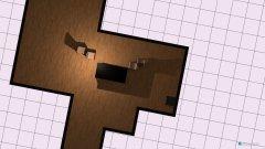 Raumgestaltung Vorschlag Treppenhaus offen in der Kategorie Wohnzimmer
