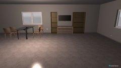 Raumgestaltung w zimmer in der Kategorie Wohnzimmer
