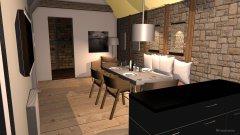 Raumgestaltung W1KöwiWohnenV2 in der Kategorie Wohnzimmer