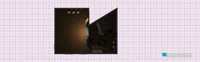 Raumgestaltung Waldgrün in der Kategorie Wohnzimmer