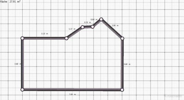 Raumgestaltung Waldi 1 in der Kategorie Wohnzimmer