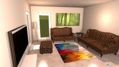 Raumgestaltung Waltrop Wohnzimmer+Esszimmer in der Kategorie Wohnzimmer