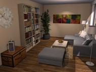 Raumgestaltung WandbilderXXL Showroom v2 in der Kategorie Wohnzimmer