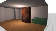 Raumgestaltung wariant2 in der Kategorie Wohnzimmer