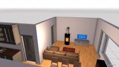 Raumgestaltung WaSi_2 in der Kategorie Wohnzimmer