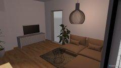 Raumgestaltung WE-3 Wohnzimmer in der Kategorie Wohnzimmer