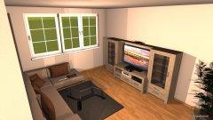 Raumgestaltung WE 69_WZ in der Kategorie Wohnzimmer