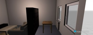 Raumgestaltung Wei_Wohnzimmer3 in der Kategorie Wohnzimmer
