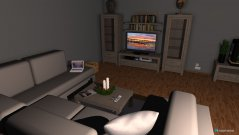 Raumgestaltung Weihnachten im Wohnzimmer in der Kategorie Wohnzimmer