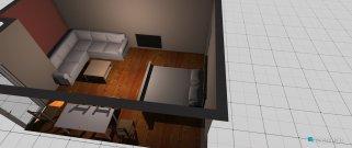 Raumgestaltung Weissensee in der Kategorie Wohnzimmer