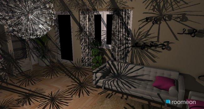 Raumgestaltung weisses wohnzimmer in der Kategorie Wohnzimmer